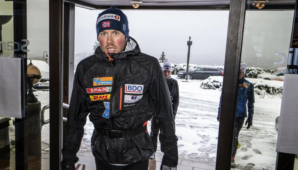 ANGRER: Emil Iversen har tatt lærdom av hendelsen hvor han klarte å vrake seg selv i Lahti-VM, selv om han var i fysisk god form. Foto: Hans Arne Vedlog / Dagbladet
