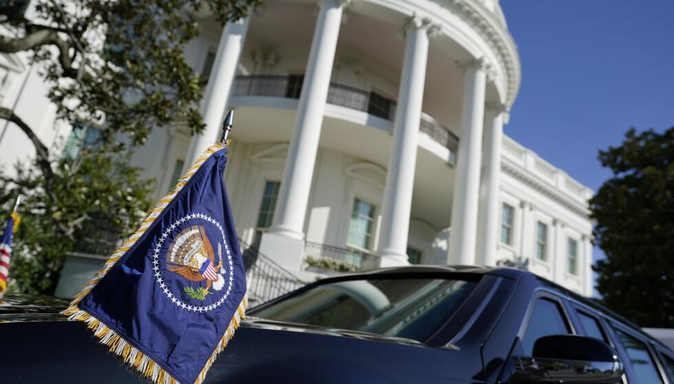 President Donald Trump befinner seg i Det hvite hus. Foto: Alex Brandon / AP / NTB