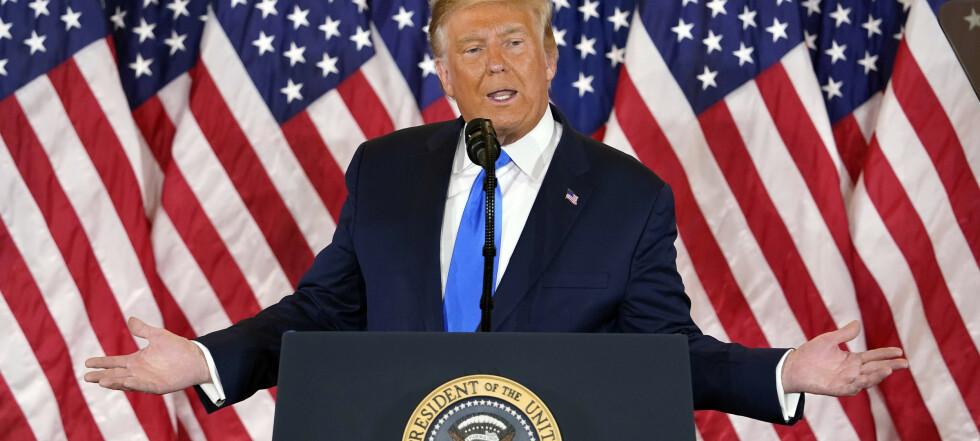 Ekspert om Trump-tale: – Utrolig farlig