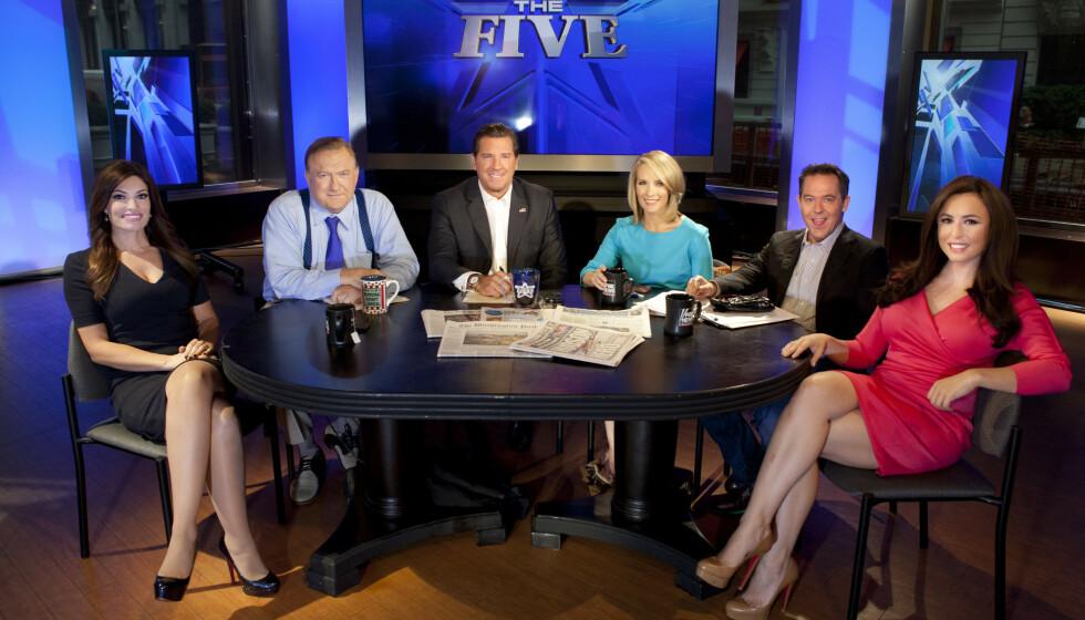 PRESIDENTENS FORETRUKNE TV-KANAL: Trump-tilhengere stoler mer på Fox News enn på andre TV-kanaler. Derfor er deres dekning også egnet til å roe gemyttene i et polarisert folk. Foto: NTB