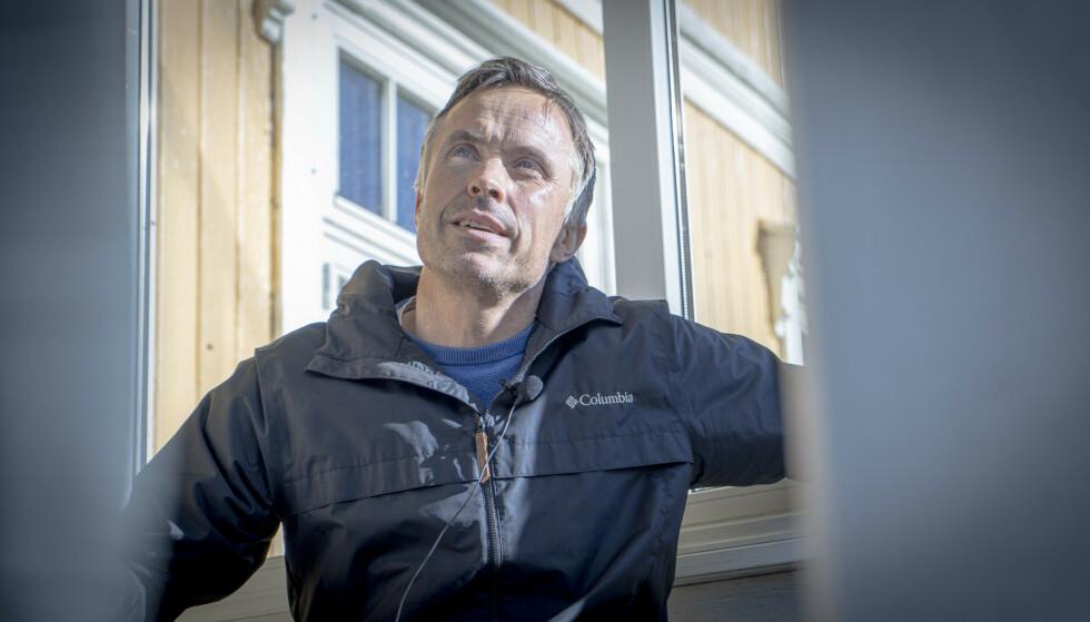 RASTLØS: Vidar Løfshus forteller at han har kjent på en rastløshet etter at han ga seg som langrennssjef. Foto: Kristoffer Løkås