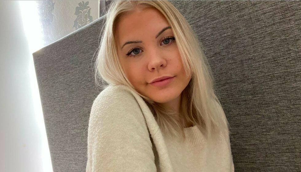FIKK BLODPROPP: Tilde Gustavsson (18) mistet plutselig følelsen i halve kroppen. Røntgenbilder viste at et 2,5 centimeter stort område i hjernen var skadet. Nå, tre år etter at hun ble rammet, får p-pillene hun gikk på, skylda. Foto: Privat