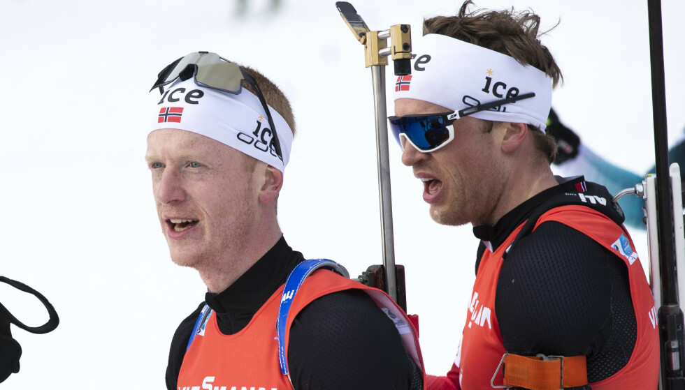 REAGERER: De norske skiskytterne synes det er merkelig at Det internasjonale skiforbundet (FIS) vil kjøre normalt program til vinteren. Foto: Berit Roald/NTB