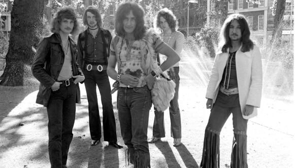 URIAH HEEP: Store 70-tallshelter. Bandet har solgt mer enn 40 millioner plater. Foto: Alan Messer / NTB