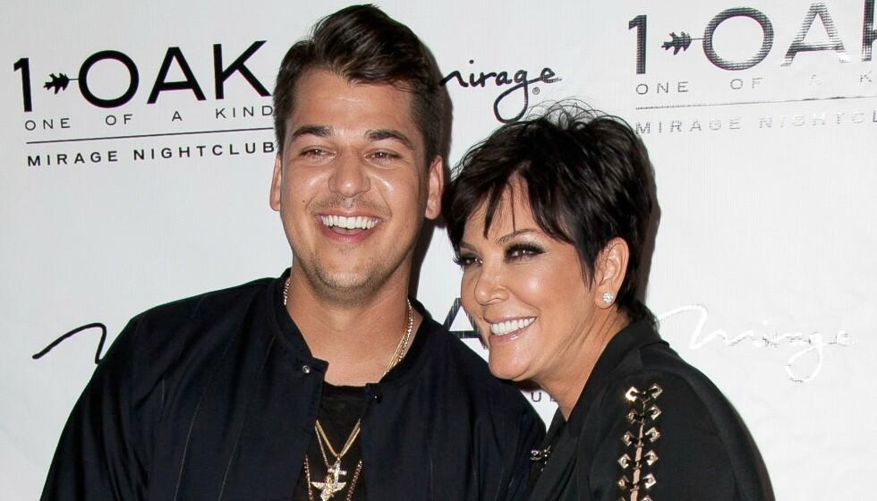 MER TILFREDS: Rob Kardashian har blant annet vært gjennom brudd, økonomisk krise og sykdom. Nå skal han angivelig leve sitt beste liv, ifølge mamma Kris Jenner. Foto: Mediapunch/REX/Shutterstock/NTB