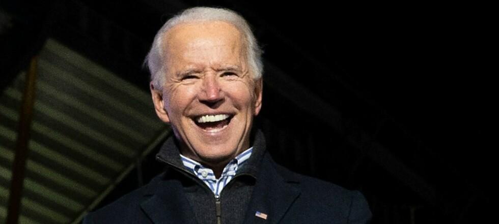 Joe Biden utropt som vinner