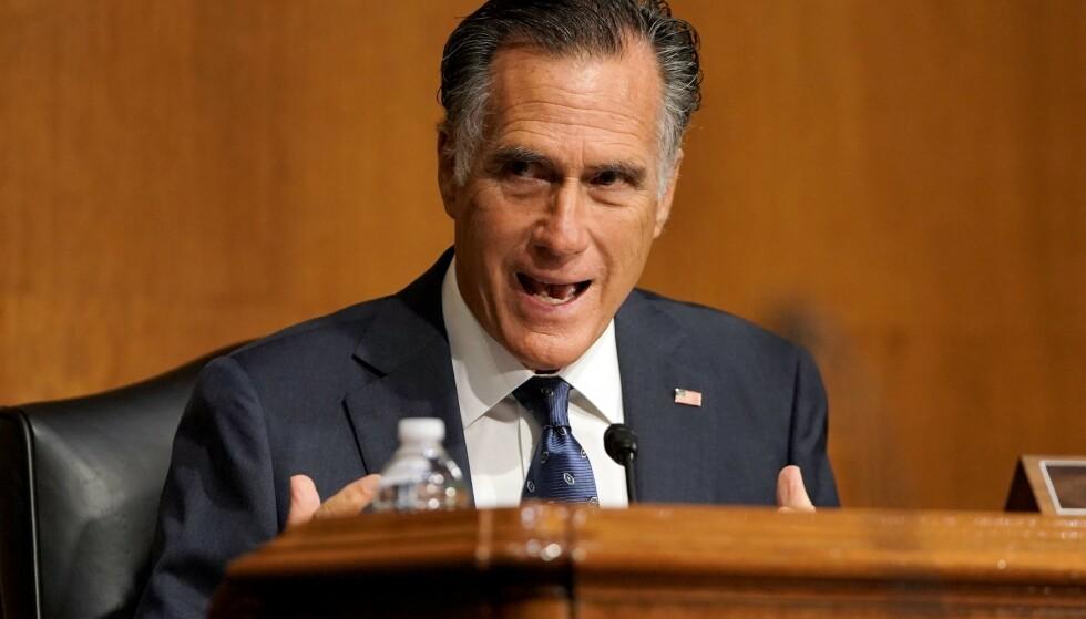Mitt Romney. Foto: Greg Nash / POOL / AFP