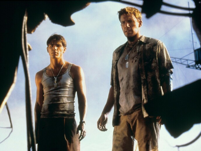 «Pearl Harbor»: Her er Josh Hartnett i filmen «Pearl Harbor» fra 2001, sammen med Ben Affleck. Foto: Moviestore / REX / NTB