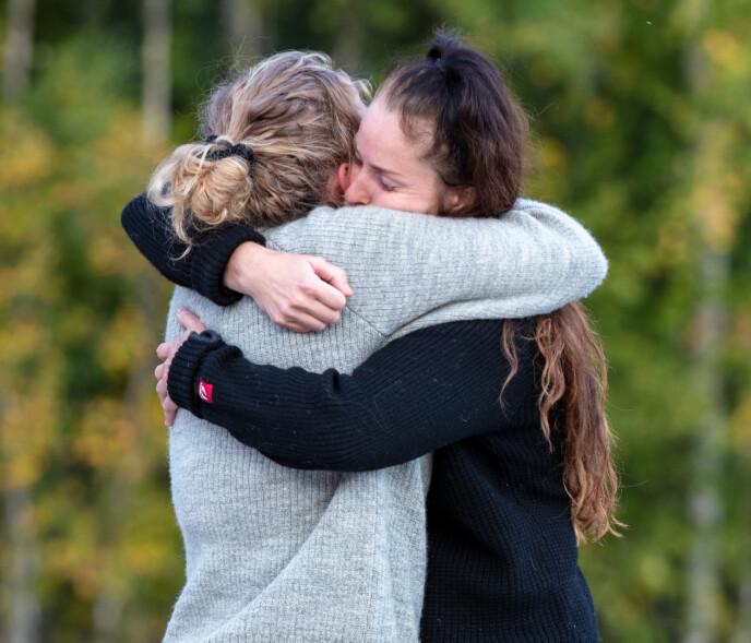 GODE VENNER: Karianne Vilde og Karianne fikk sju uker sammen på tv-gården, og har beholdt vennskapet også på utsida. Foto: Alex Iversen / TV 2