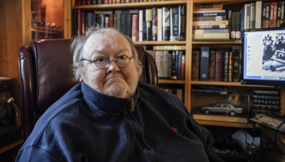 GAMMEL STORHET: John Hart har fulgt Bidens karriere og Scranton i mange år som journalist i Scranton Tribune. Foto: Lars Eivind Bones / Dagbladet
