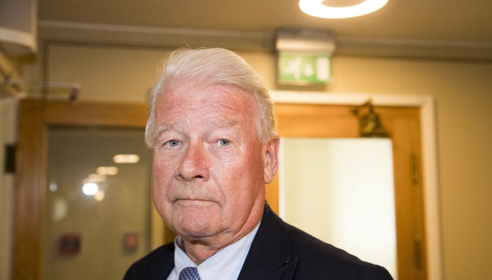 - INTET ER AVGJORT: Det mener Fremskrittspartiets Carl I. Hagen. Foto: Terje Pedersen / NTB