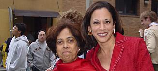 Kamala Harris hyllet sin døde mor