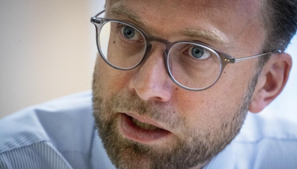 UT MOT SP: - Sikkerhet er ikke egnet for politisk spill, sier Nikolai Astrup. Foto: Bjørn Langsem