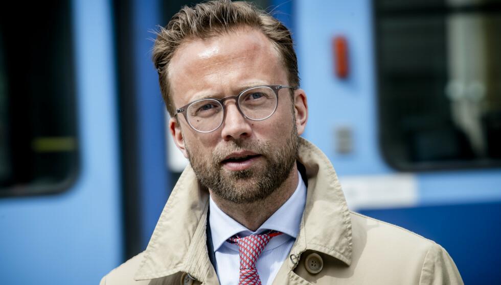 TRÅKKET I SALATEN: Nikolai Astrup innrømmer at han burde ordlagt seg annerledes. Foto: Lars Eivind Bones / Dagbladet