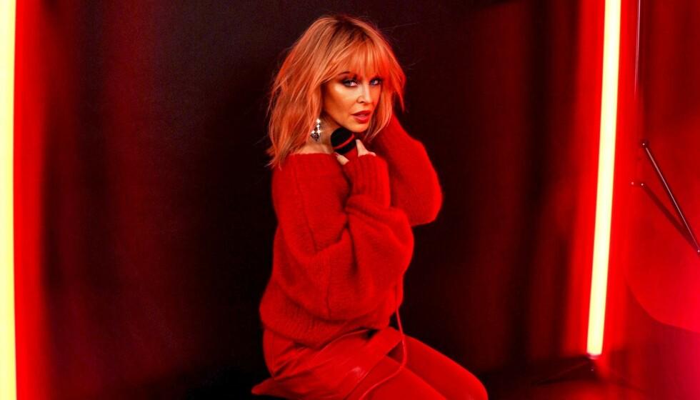 DIVA: Kylie Minogue slipper albumet «Disco». Foto: Promo