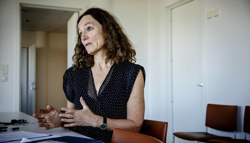 IKKE MOTSTAND: Camilla Stoltenberg, direktør i FHI, mener det er bra folk stiller kritiske spørsmål. Foto: Nina Hansen / Dagbladet