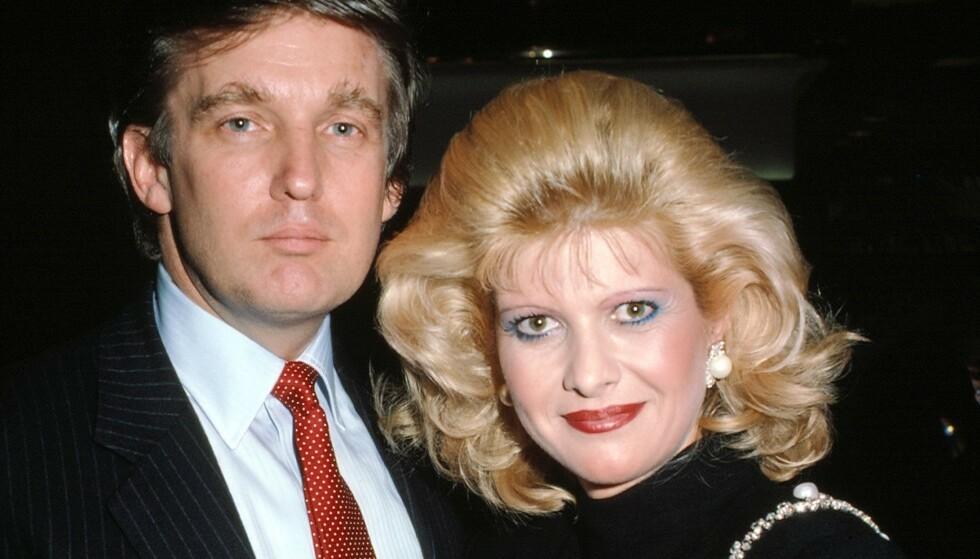 UTTALER SEG: Donald Trumps ekskone Ivana Trump uttaler seg om USA-valget. Foto: Lipson/ Mediapunch/ REX/ NTB