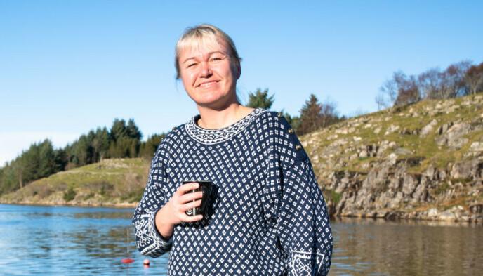 PRIVAT: Den tidligere håndballproffen legger ikke skjul på at hun liker å verne om privatlivet. Foto: Øistein Norum Monsen / Dagbladet