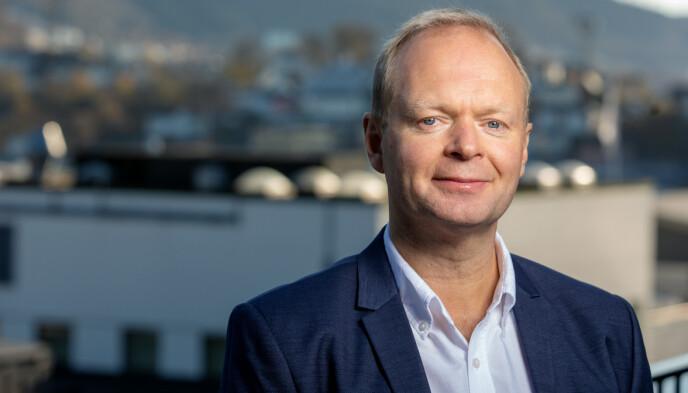 SPORTSREDAKTØR: Vegard Jansen Hagen i TV 2. Foto: Eivind Senneset / TV 2
