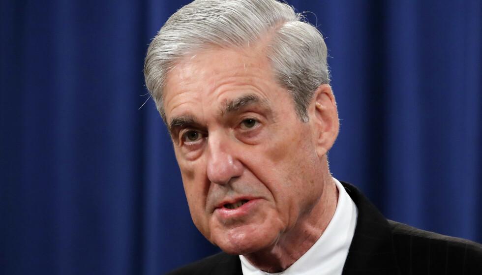RUSSLAND-ETTERFORSKNING: Spesialetterforsker Robert Mueller ledet etterforskningen av forbindelsen mellom Russland og Trump-kampanjen. Foto: Carolyn Kaster / AP / NTB