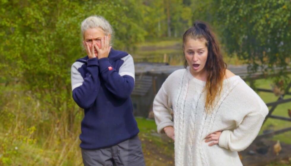 BRANN-«SJOKK»: Og Oscar for beste rolle i en realityserie går til..? Foto: Skjermdump/TV 2