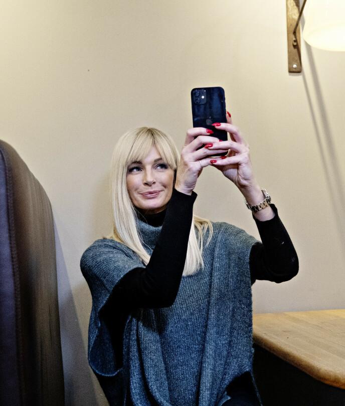 «ME, MYSELF AND I»: Kathrine Sørland mener det ikke er hold i ryktene om at hun skal ha funnet kjærligheten på ny. Foto: Nina Hansen / Dagbladet