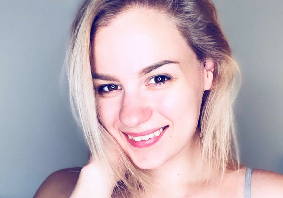 ASEKSUELL: Ingvild Karlsen (28) sier hun har vært aseksuell hele livet. Foto: Privat