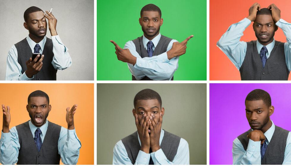 KROPPEN SNAKKER: Du tenker kanskje ikke over det, men kroppens signaler røper hva du synes om det kollegene dine sier på Teams. Tre eksperter gir deg tipsene for gode videomøter. Foto: NTB / Shutterstock