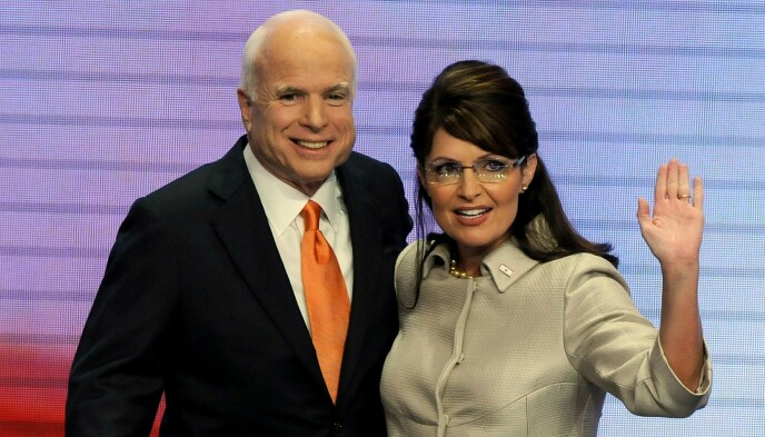 TAPTE: Obama gikk til valg mot John McCain og Sarah Palin i 2008. Han vant valget. Foto: Shutterstock / NTB