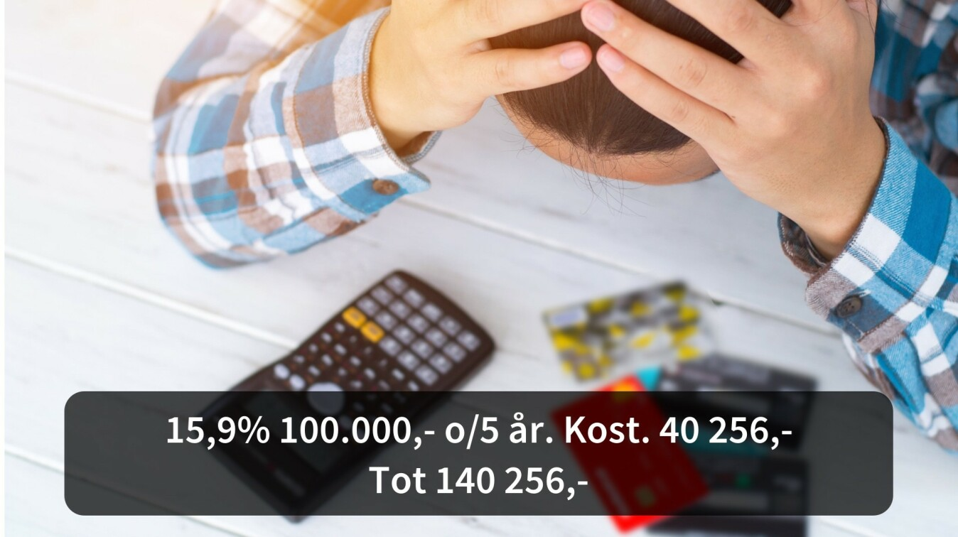 Slik refinansierer du dyre lån