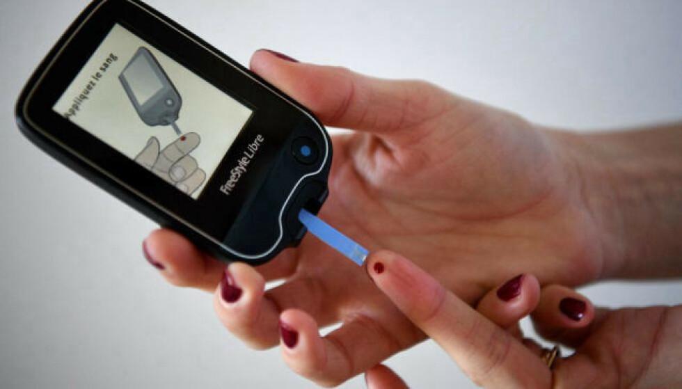 RISIKOGRUPPEN: Ny forskning viser at personer med diabetes er spesielt utsatt for coronavirus. Foto: AFP / NTB Scanpix