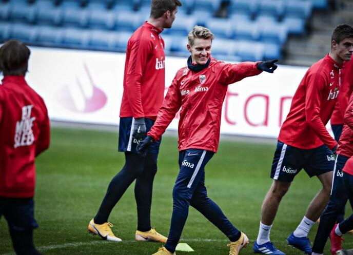 SKADEFRI: Martin Ødegaard har hatt en trøblete høst. Nå er han skadefri igjen. Foto: Bjørn Langsem / Dagbladet