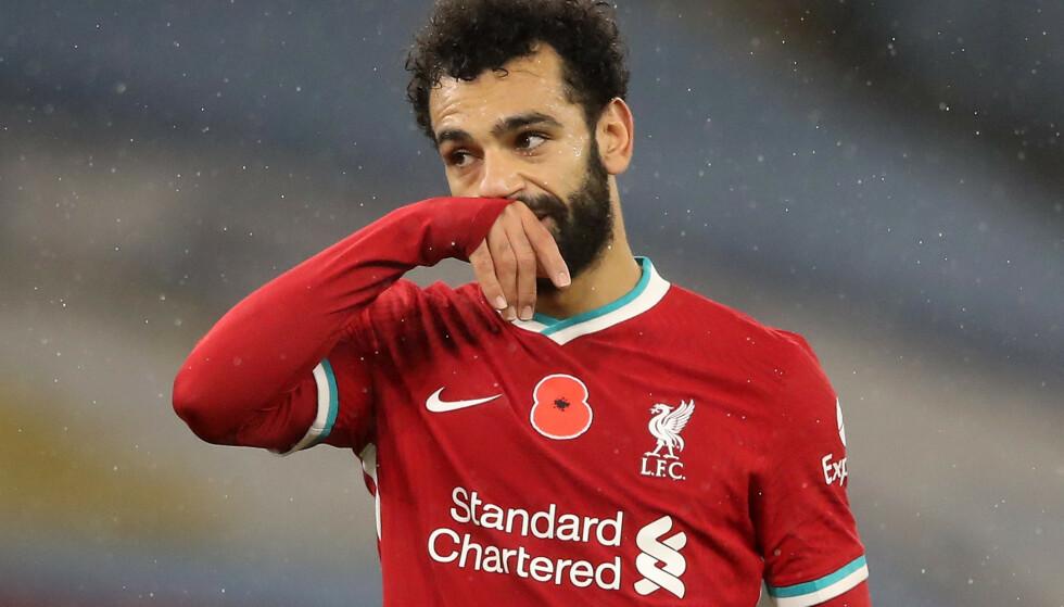 SMITTET: Mohamed Salah har testet positivt for Covid-19 på landslagssamling med Egypt. REUTERS/Martin Rickett