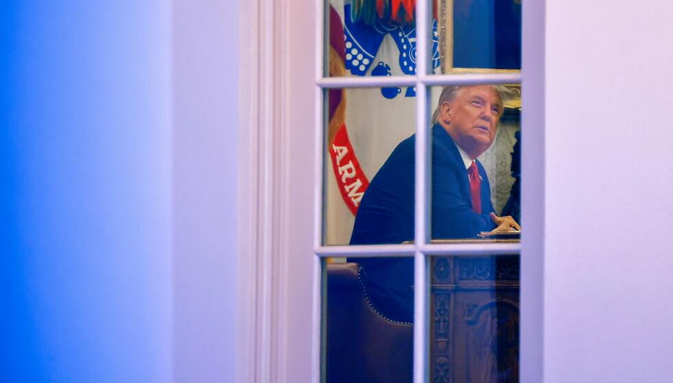 TAPTE VALGET: Donald Trump tapte presidentkampen til Joe Biden. Foto: Carlos Barria / Reuters / NTB