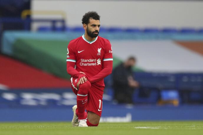 MÅ I ISOLASJON: Mohamed Salah. Foto: NTB