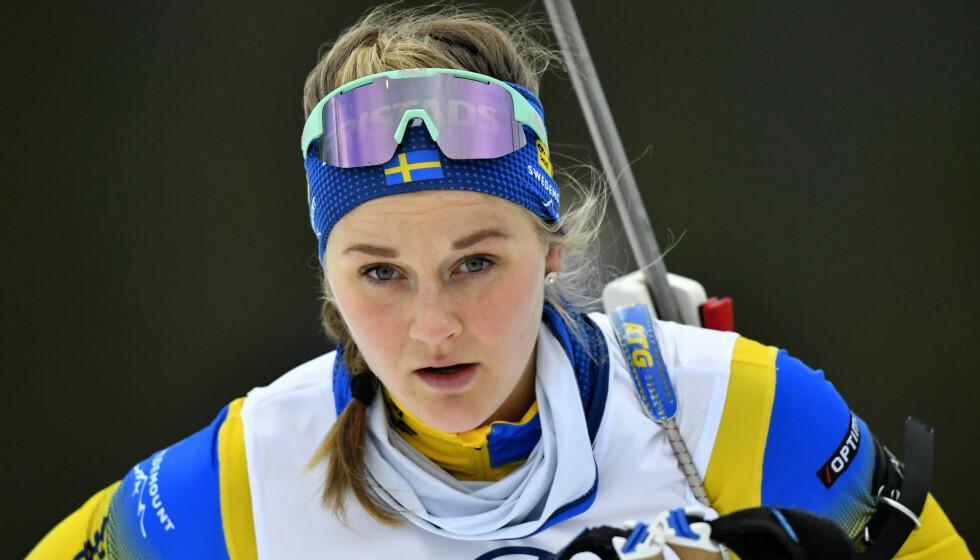 I GANG MED SESONGEN: Stina Nilsson. Foto: Nisse Schmidt /TT / NTB