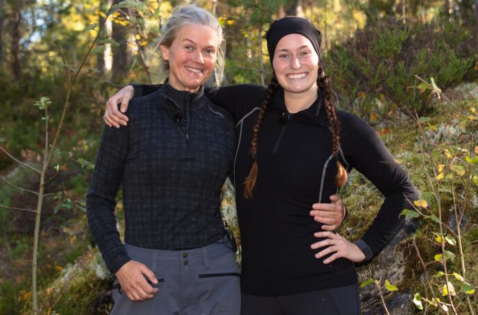 ISFRONT: Inger Cecilie «IC» Grønnerød og Karianne Kopperstad er ikke på talefot etter «Farmen». Foto: Alex Iversen/TV 2