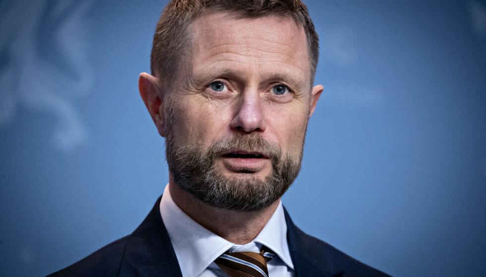Nei: Helse- og omsorgsminister Bent Hai. Foto: Bjørn Langsem / Dagbladet
