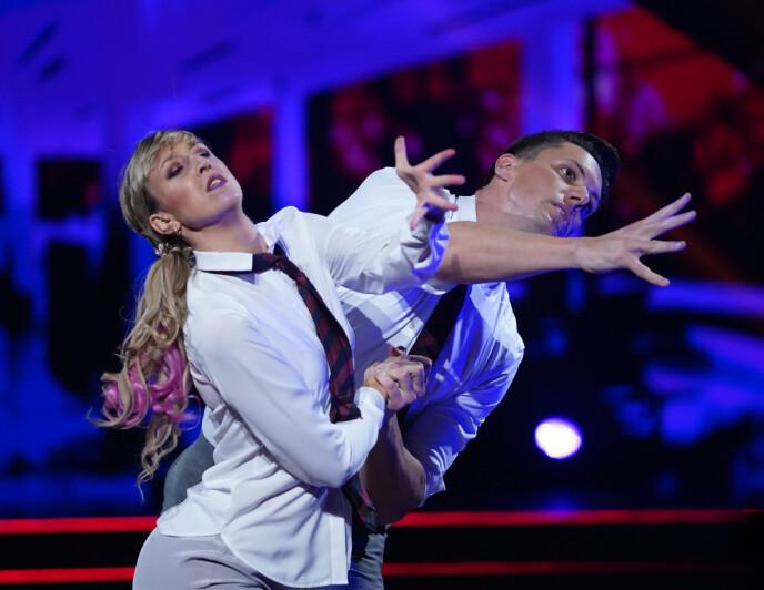 TANGO: Mai Mentzoni imponerte med sin andre dans. Foto: Espen Solli / TV 2
