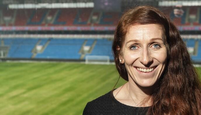 Toppfotballsjef: Lise Klaveness. Foto: Hans Arne Vedlog