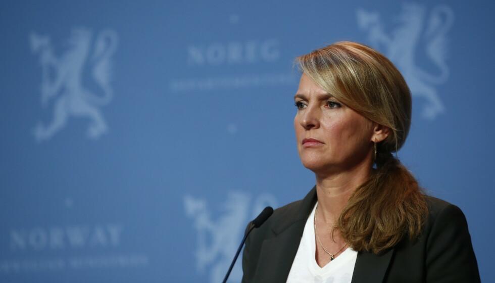 VIKTIG: Line Vold mener det er viktig å undersøke hvorfor så mange med fødeland utenfor Norge blir smittet. Foto: Terje Pedersen / NTB