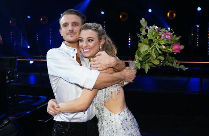 UTE AV DANSEN: Marte Bratberg innrømmer at det var kjipt å ikke komme til finalen. Foto: Espen Solli / TV 2