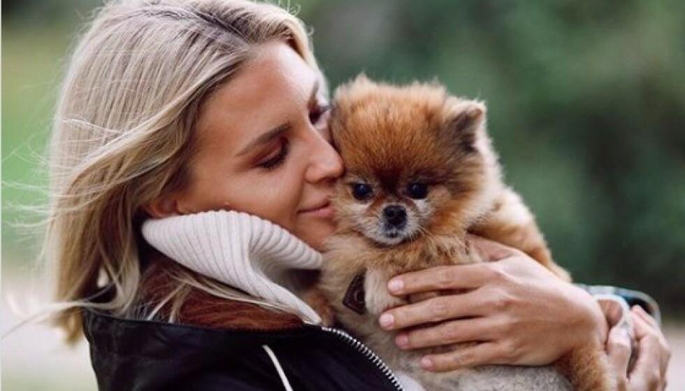 MÅTTE AVLIVE: Begge hundene var svært syke den siste tida, noe som gjorde at familien Riise bestemte seg for at det var best at de fikk slippe. Foto: Privat