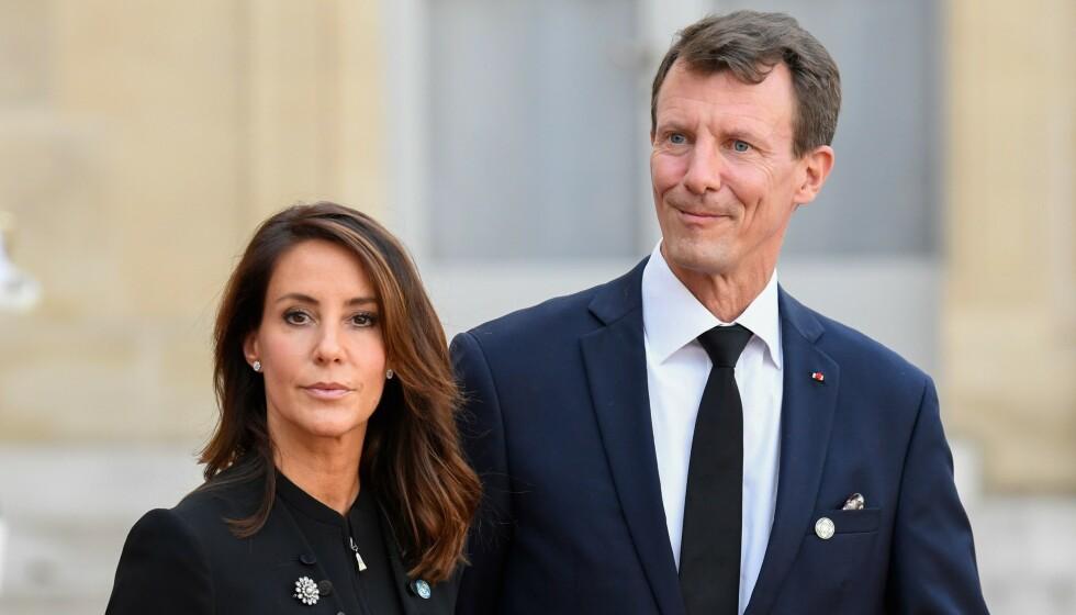 FIKK BLODPROPP: Prins Joachim ble i sommer behandlet for blodpropp i hjernen.  Foto: Bertrand Guay / AFP / NTB
