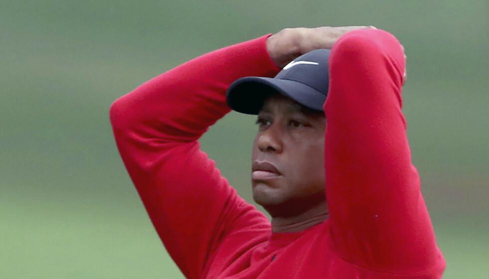 DEPPER: Tiger Woods. Foto: NTB