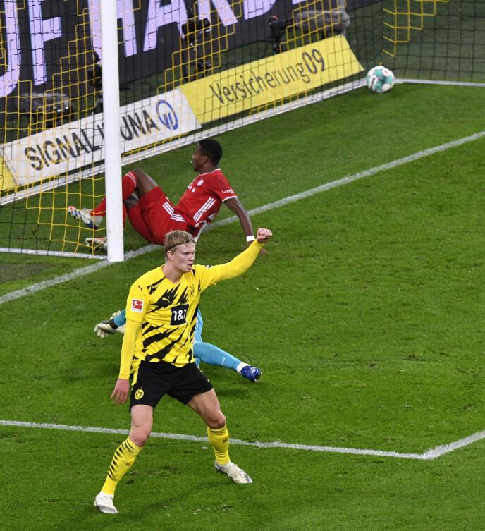 MÅLTØRST: Erling Braut Haaland tørster etter å komme i gang for Borussia Dortmund igjen. Spørsmålet er når det skjer. Foto: NTB