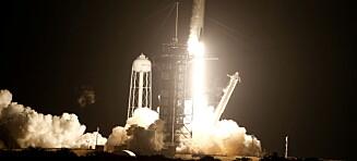 Vellykket SpaceX- og NASA-oppskyting: - Fantastisk!