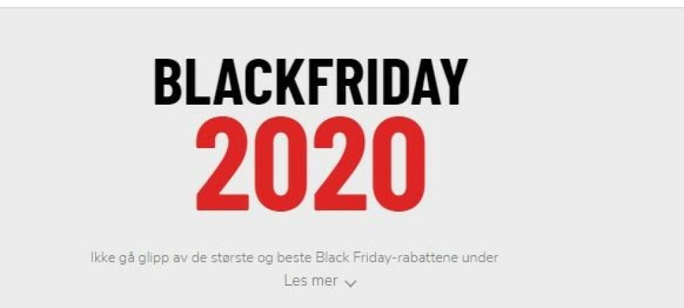 Blackfriday 2020 - Alle rabattkoder og kampanjer på ett sted