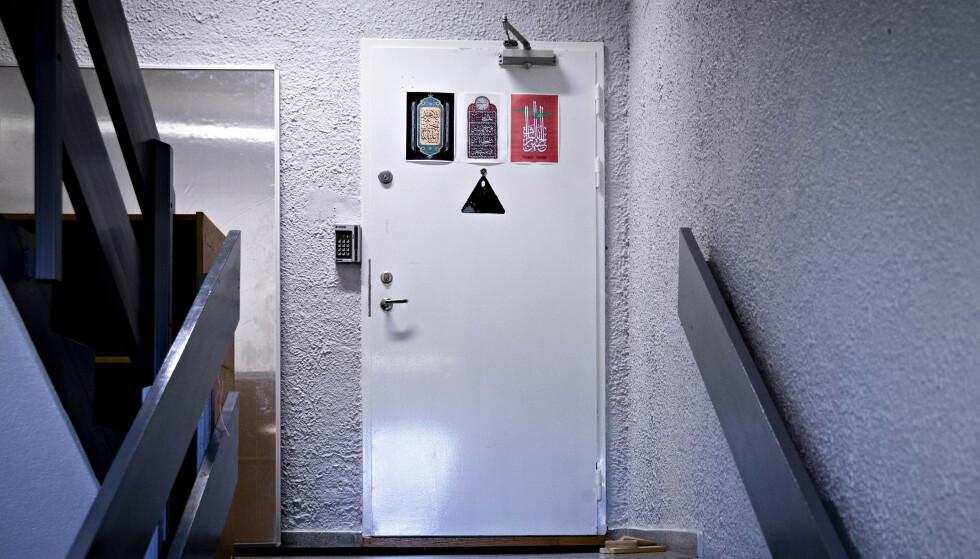 MOSKEEN: Her i et industribygg på Tveita holder Det norske Imam Ali senter til. Moskeen ble grunnlagt med hjelp av en iransk diplomat - og imamen anklages nå for forbindelser til iransk etterretning. Foto: Bjørn Langsem / Dagbladet