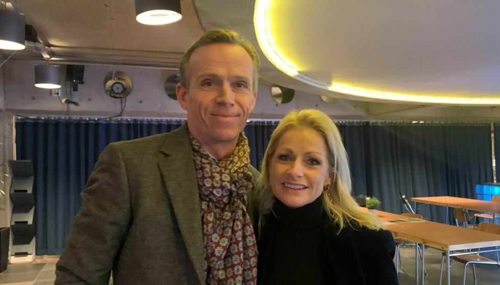 PAR I HJERTER: Merete Lingjærde og kjæresten forlovet seg 1. oktober. Foto: Henriette Eilertsen / Dagbladet